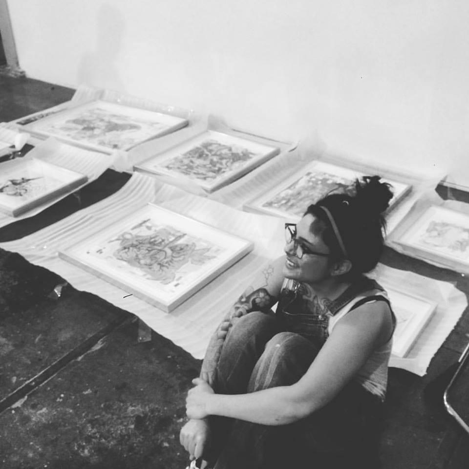 Artist Interview - HUD Ventura Resident Artist Eva Ryan