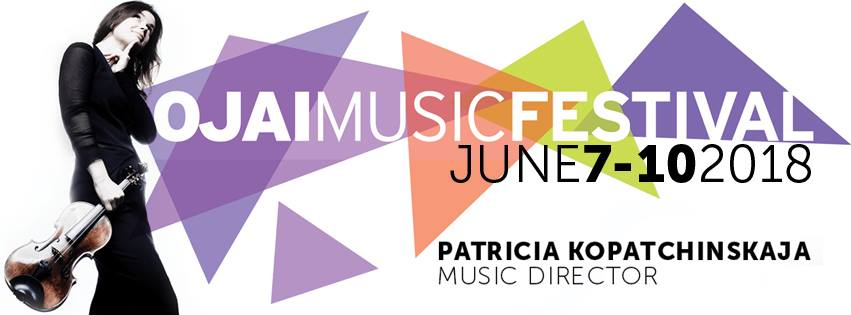 Ojai Music Festival Announces 2018 Schedule
