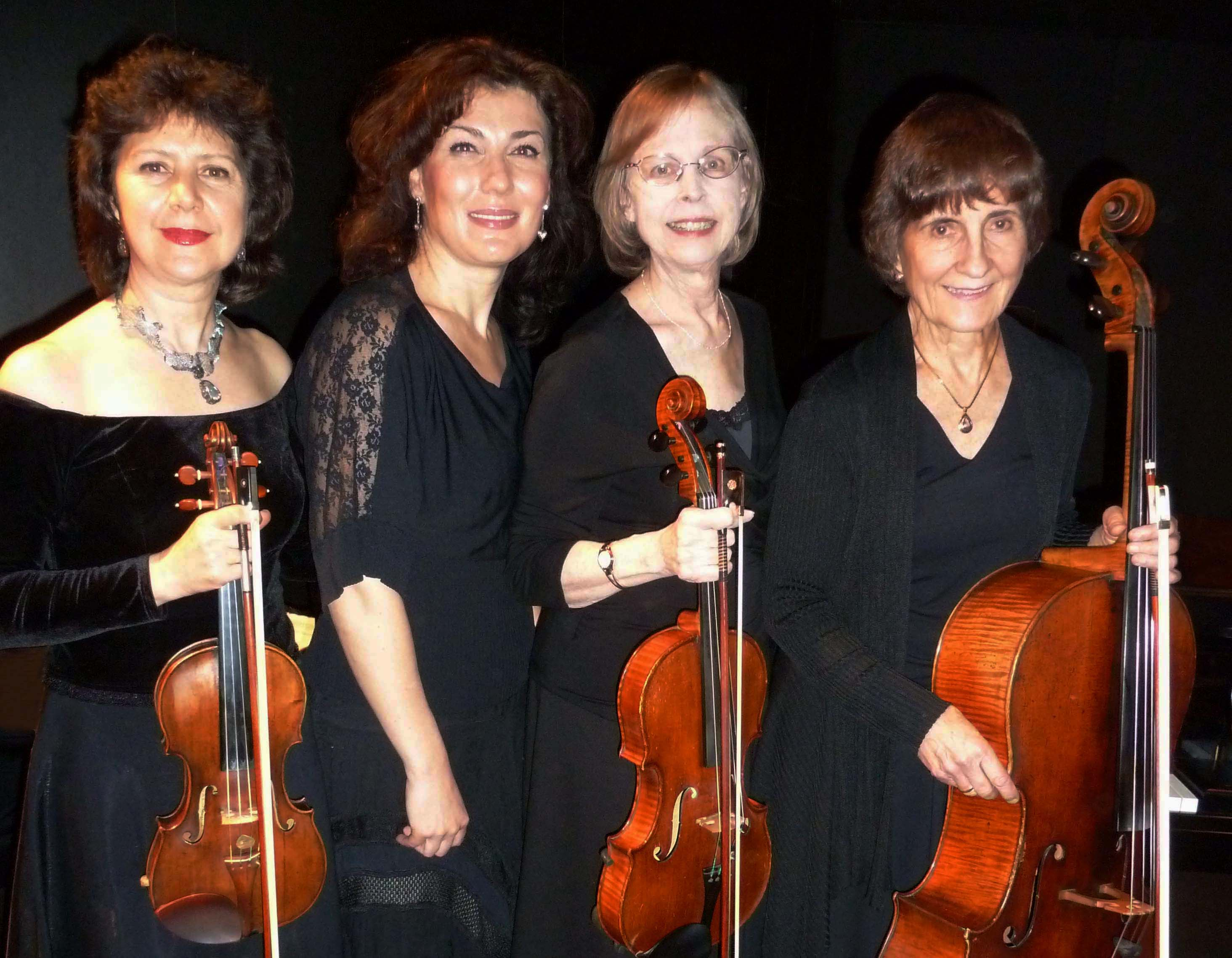 The Luminoso Piano Quartet in AN AFTERNOON OF CHAMBER MUSIC