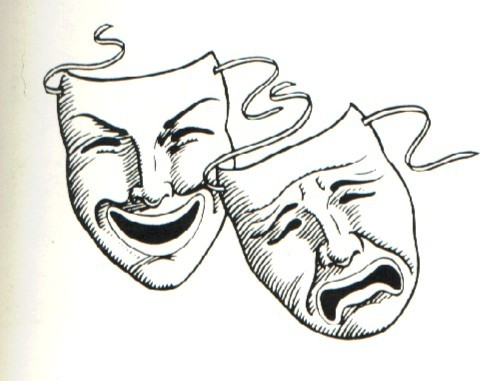The Comedy and Tragedy Masks acting 204463 489 381