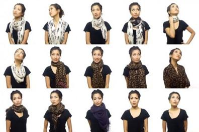 25 Different Ways to Wear Scarf in Just Five Minute