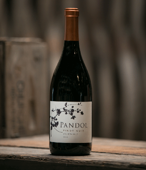 2014 Single Bottle shot Pandol Pinot Noir