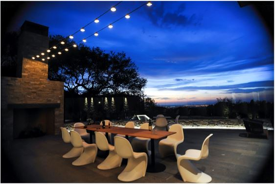 Presquile Winery at dusk photo by Avis Mandel