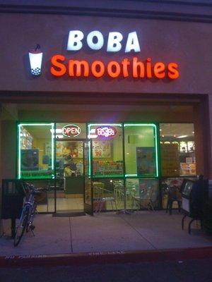 Boba Smoothies