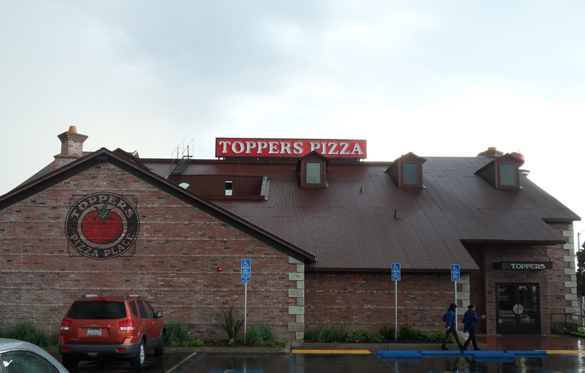 Toppers By The Sea