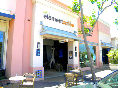 Only one element to be concerned with- ELEMENT COFFEE