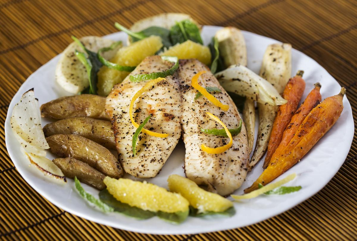 Holiday entertaining made easy, healthy with fish