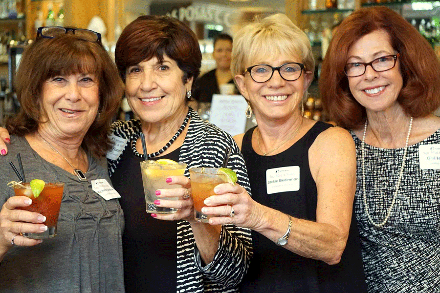 003 l to r Michelle Dilldine . Nancy Forrester . Jackie Biederman . Gail Lercel