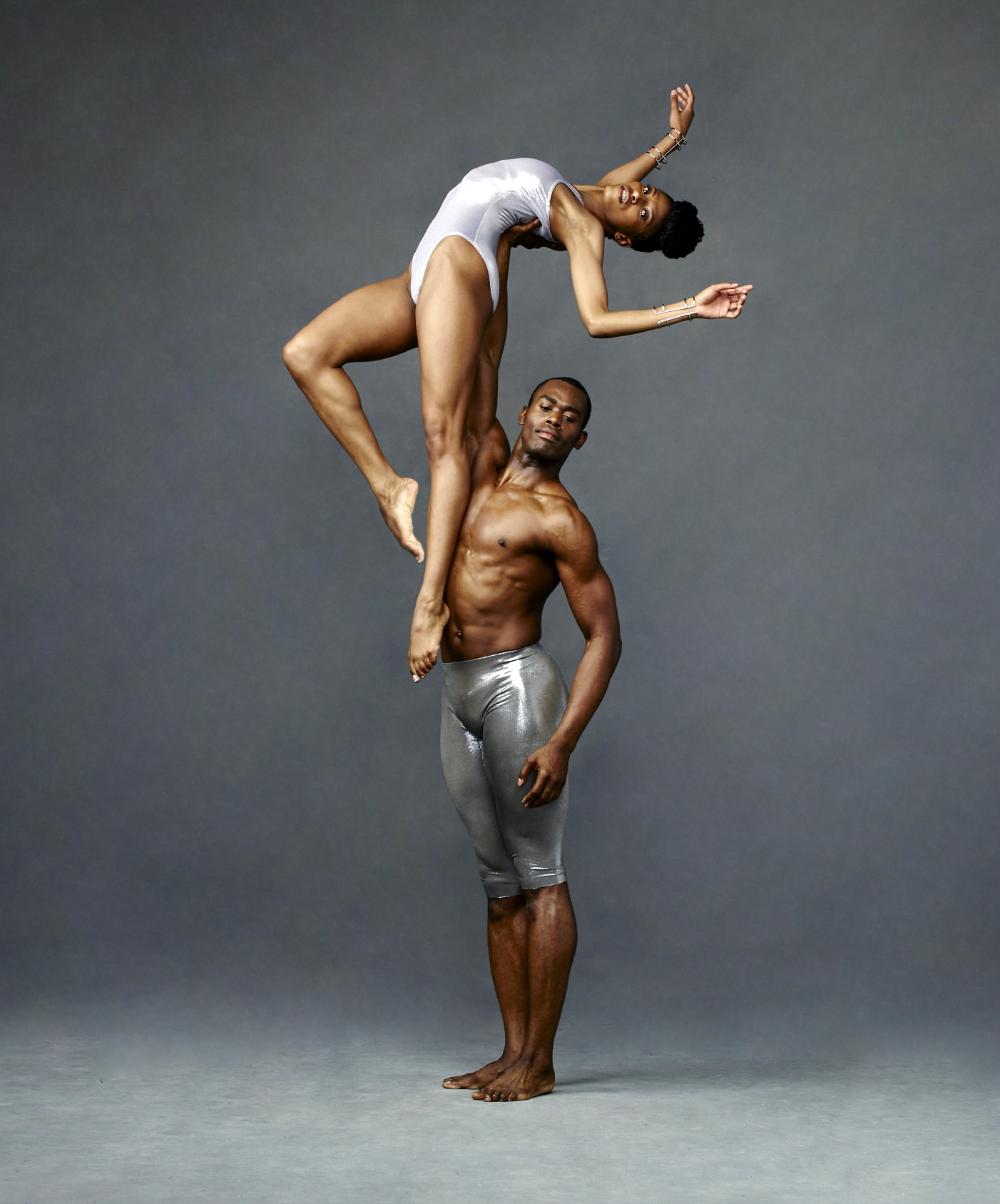 Alvin Ailey American Dance Theaters Jacqueline Green and Jamar Roberts. Photo by Andrew Eccles 04